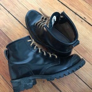 Vintage Frye Combat Boots
